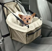 Wholesale Dog Car Booster Seats - Pet Dog Puppy Cat Car Carrier Soft Pet Dog Puppy Cat Kitty Booster Seat Carrier Leash Bag