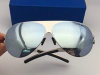 756790dd99d8d2 nouvelles mykita lunettes de soleil Franz cadre pilote avec lentille ultra-léger  de la lentille de miroir Memory Alloy lunettes de soleil surdimensionné ...