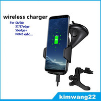 Wholesale Nexus Wireless - Fast Qi Wireless Car Charger Mount Holder Charging Cradle for Samsung s7, s8 edge, note5 nexus 4 5 6 for iphone5 6 7