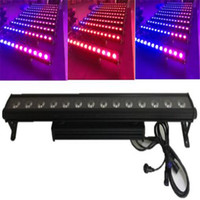 Wholesale Led Wall Washer Light Bars - 14x30W LED DMX 2 3 5 8 42 44CH Wall Washer Lighting Bar LED Stage Pixel Light Party DJ Show Waterproof IP65