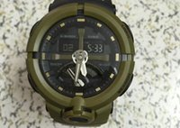 Wholesale Mens Casual Military Army - Original Color All Function ga500 Led Army Military Shocking Watches Mens Waterproof Watch all pointer work Digital G Sports Wristwatch