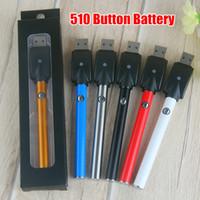 ingrosso il caricatore migliore del vape-Migliore batteria manuale di penna di vape di Bud con caricatore USB 510 thread 280mah batteria a bottone olio o penna vape e sigaretta ce3 batteria