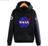 amerikanische mäntel für männer großhandel-Die neuesten Nasa Hoodies Sweatshirts Mode American Flag Sport Active Coats Jacken Hoody Hoodies Sweatshirts für Männer und Frauen Liebhaber