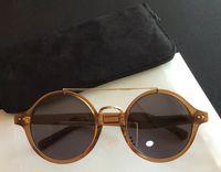 óculos de sol grátis venda por atacado-2017 frete grátis novo luxo mulheres marca designer óculos de sol óculos de sol audrey óculos de sol rodada quadro estilo vintage cool design