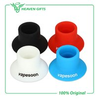 Wholesale Electronic Cigarette Rubber Holder - Wholesale-3 pieces Vapesoon E-cig Silicone Suction Cup Rubber Holder for Electronic Cigarette Atomizer Silicone Holder Accessory