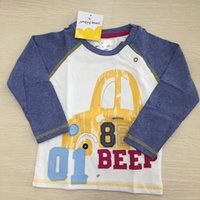Wholesale China Wholesale Clothing For Children - Kids clothes 2017 children long sleeve t shirts for spring and autumn with pure cotton wholesale supplier china