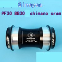 Wholesale Gineyea BB30 PF30 axial push in conversion shimano sram tooth plate MM