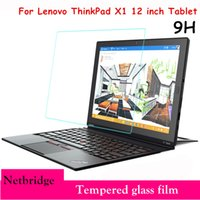 Wholesale 12 Thinkpad - Wholesale- Tempered Glass For Lenovo ThinkPad X1 12 inch Tablet Protective Film Screen protector Ultra thin HD Clear 0.26mm 2.5D Premium