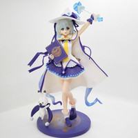 Anime Hatsune Miku Magical Snow Ver Sexy Girl Modèle PVC Modèle Collectible Toy Gift