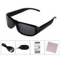 Wholesale Hd Eyeglass Camcorder - Spy Eyeglasses Mini Camera Sunglasses 1080P HD Hidden Cam Camcorder Video DV DVR Recorder Retail Package