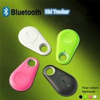 iTag Bluetooth GPS Tracker Anti-Lost Alarm Tracer Bluetooth Key Finder Locator Fernbedienung Shutter für alle Smartphone mit OPP Bag