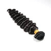 Wholesale Unprocessed Virgin Hair Deep Curl - Queen 6A Virgin Brazilian Deep Wave Hair Extension Unprocessed Deep Curl Remy Human Hair Weave Weft 1Pc 100g Curly Hair