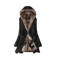 Wholesale New Popular Women Winter Outwear Trench Long Fashion Trench Plus Size S XL A425