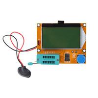 probador de instrumentos de medición al por mayor-Caliente LCR-T4 ESR Metros Transistor Tester Diodo Triodo Capacitancia SCR Inductancia Medición Analizar Instrumentos CA1T
