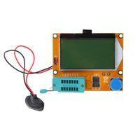 mètres esr achat en gros de-Chaud LCR-T4 ESR Mètre Transistor Testeur Diode Triode Capacité SCR Inductance Mesure D'analyse Instruments CA1T