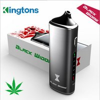 Wholesale Pax Black - 100% Authentic Kingtons Black Widow Dry Herb Vaporizer Kit 3 in 1 herbal vaporizer WAX VS Flowermate Aura X-MAX V2 better than PAX G9