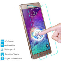 Wholesale Galaxy S3 Screen Protectors Matte - Tempered Glass Screen Protector, Round Edge Protection from Bumps, Drops, Scrapes, and Marks For Samsung Galaxy Note 3 4 5 S3 S4 S5 S6 S7