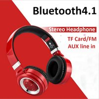 Wholesale Nextel Radio Phones - HS-827 wireless bluetooth headset earphone stereo headphones with microphone usb micro sd FM radio for mobile phone Android Samsung iPhone