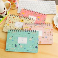 Wholesale Diary Book Flower - Wholesale- New Arrival Kawaii Floral Flower Schedule Book Diary Daily Weekly Monthly Planner Agenda 2017 Notebook School Supplies Book