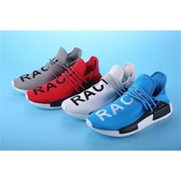 2016 New Human Race Pharrell Williams X NMD Chaussures de course sport Discount Athletic Men Outdoor Boost Sneaker Shoes Haute qualité
