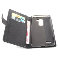 Wholesale Ray Leather Case - Flip Wallet Leather Case for LG Ray X190 X 190 Zone Case Phone Back Cover 5.5 inch Protect Card Holder Slot Luxury PU X180 X180g