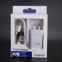 2in1 AU Plug USB Chargeur mural Chargeur CA Câble Mirco Australie Adaptive Fast Charging Travel Adapter Pack de détail pour Samsung Android Phone