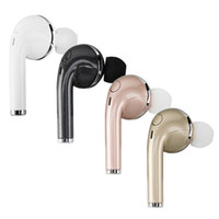 Wholesale Hard Driver Wholesaler - Mini Bluetooth Earphone CSR4.1 Wireless Music Handsfree Car Driver Headset Phone Stealth Earbuds With Microphone with hard box