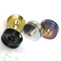 zerstäuber protektoren großhandel-Verbesserte HeatSink 2-Wärmeableitung Dekorative Schutz Beauty Ring Kühlkörper 4 Farben passen 510 RDA Zerstäuber Mods Dhl-frei