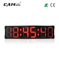Wholesale GANXIN inch Digits Outdoor Use Waterproof Marathon Sport led Countdown Timer led Large Race Clock Stopwatch Function