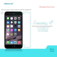 Wholesale Nillkin Iphone Screen Protector - Original Nillkin Amazing 9H Anti-explosion Tempered Glass Screen Protector With Retailed Package For IPhone 6 Plus IPhone 6S Plus