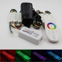 Wholesale 20Pcs SMD RGB LED Module Waterproof Light Advertising lamp and DC V A power supply G remote controller for choose