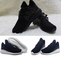 Wholesale Shoes For Fitness - Tubular Radial Y3 Running Shoes 2017 new design Fitness Athletic Runners Boost Tubular Runner Triple White Black Boost for man&woman