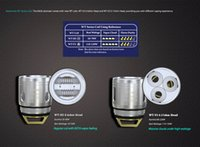 Wholesale V3 Atomizer Head - Authentic Wismec KAGE Tank Atomizer Replacement Coils Head WT-H2 0.4ohm Head WT-V3 0.17ohm Head 100% Original