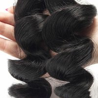 Wholesale Grade 5a Malaysian Curly Hair - Brazilian Loose Wave 4pcs lot Grade 5A Unprocessed Human Hair modern show Brazilian Virgin Hair Loose Wave Curly Beauty Queen Hair