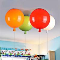 precio de globo de color para niosnovedad color baln lmparas de techo estilo moderno