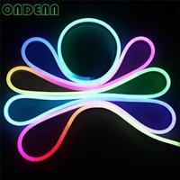 ingrosso tubi flessibili condotti-IP68 impermeabilizzano la luce al neon della flessione di RGB LED con la metropolitana al neon della spina LED, la metropolitana della flessione di 20m / lot 60led / m LED DHL di spedizione libero