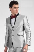 Wholesale Unique Men S Wedding Suits - 2017 Free shipping Unique design Custom Groom Tuxedos Best man Suit Wedding Groomsman Suits Bridegroom Suits(Jacket+Pants+BOWtie)