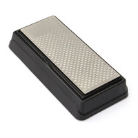 Wholesale Diamond Blade Stone - 360 600 Grit Double Side Diamond Sharpening Stone Knife Blade Sharpener