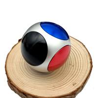 Wholesale New Arrival Top Kids - Football Hand Spinner Metal Ball Fidget Spinners Wear Resisting Spinning Top Kids Finger Toy New Arrival 3003146