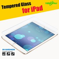 Wholesale Reinforced Glass - Tempered Glass Screen Protector Clear Films Reinforced For Ipad pro 2 3 4 Air Air 2 Mini Mini 2 Mini 3 Mini 4