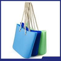 Wholesale Silicone Jelly Beach Bag - Fashion silicone handbag Women's handbag Shopping Bag Beach Waterproof Cosmetic Bag