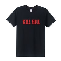 Wholesale Kill Bill - Kill Bill T Shirts Men Fashion Summer Short Sleeve Cotton Letter Print T Shirts Men Kill Bill T-shirts Tops Tees OT-106
