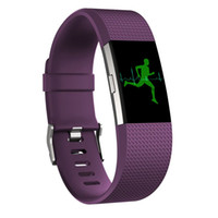 Wholesale Smart Watches Sale - Hot Sales COMLYO Silicone Strap for fitbit charge 2 band Fitness Smart watches Replacement Sport Strap Bands for Fitbit Charge 2 bracelet