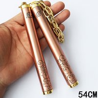 Wholesale martial arts for sale - New Archaistic Nunchakus Animation Product All Metal Kirsite Nunchakus cm Bruce Lee Chinese Martial Art Antique Craft Collection Nunchakus