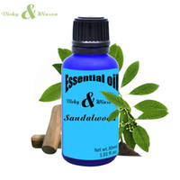 Wholesale Pure Sandalwood - Vicky&winson Sandalwood aromatherapy essential oils 30ml Purify heart and meditation from india 100% natural