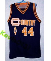 Wholesale Shirts Size 44 - CHRIS WEBBER #44 COUNTRY DAY HIGH SCHOOL Basketball Jersey Stitched Customize any size and name