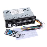 leitor de cartões mp4 venda por atacado-10 V-14 V 1 Din Carro Digital Stereo FM Rádio Leitor de Mp3 Car Audio Player de Música Suporte USB / SD / MMC Leitor de Cartão com Controle Remoto