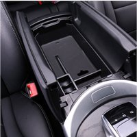 Wholesale Holder Class - Car Center Console Armrest Storage Box Container Holder Tray Accessories For Mercedes-Benz C class W205 2015-17