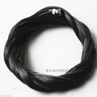Wholesale Horse Hair Bow - High grade 1kg 85cm violin bow horse hair natural black
