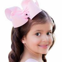 kelebek klibi saç yayları toptan satış-Sıcak Stil Çocuk Kız Şeker Renk Yay Tokalar Sevimli Kelebek Saç Klipler Dokuz Renkler Moda Saç Takı Toptan Perakende